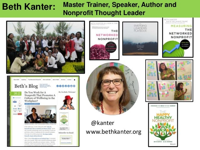 Happy Healthy Nonprofit Workshop Slide 2