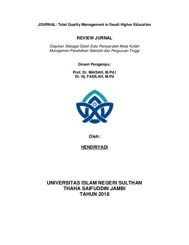 Hendri review jurnal internasional
