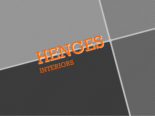 HENGES INTERIORS