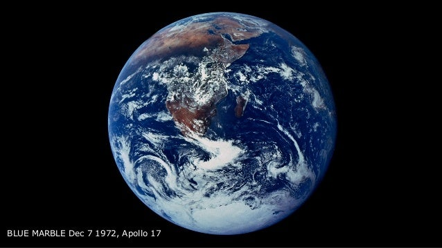 BLUE MARBLE Dec 7 1972, Apollo 17