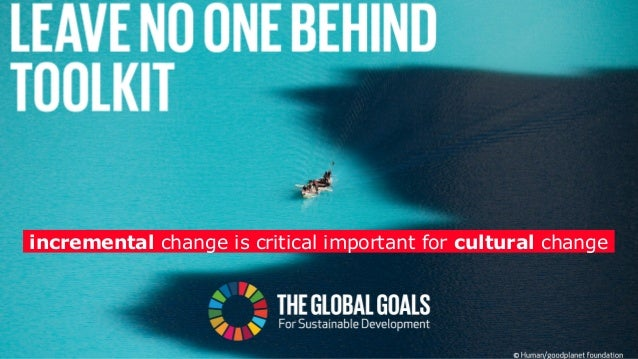 scale innovative approach: inclusive, collaborative, holistic, catalytic SDGs time catalyst / leverage change bend the tre...