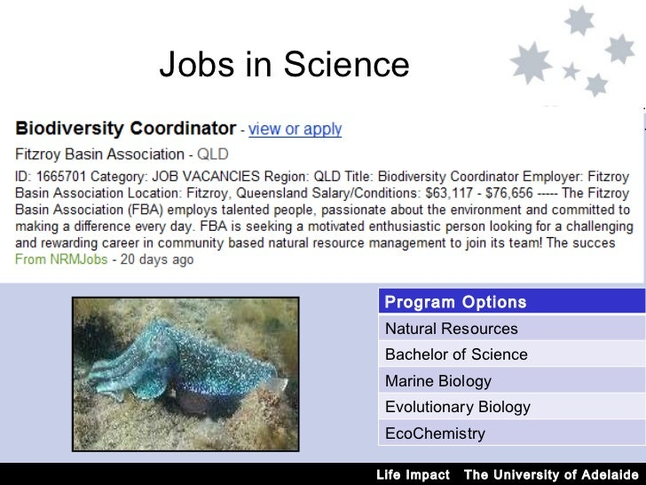 Jobs You Can Get With A Natural Science Degree