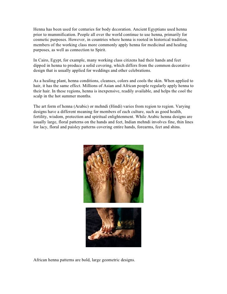 The History Of Henna By Mrembo Spa Zanzibar
