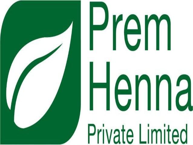32af0eedc Prem Henna Pvt. Ltd. - Henna Manufacturer in India