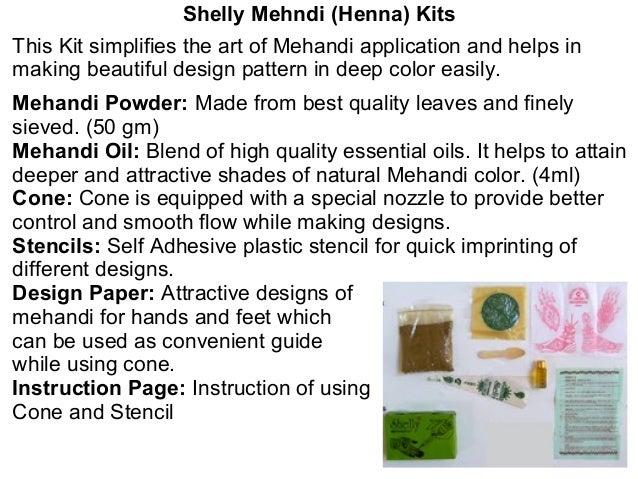 Henna Presentation