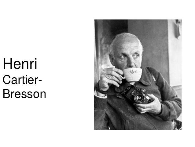Henri CartierBresson