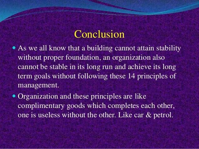 Fayols 14 Principles