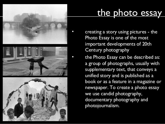 photography essay examples