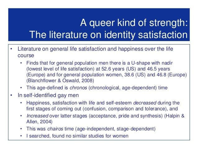 an analysis of the sexual identity of the minority Sexual minorities in the military promotes the interdisciplinary analysis of lesbian, gay, bisexual, transgendered and other marginalized sexual identities in the.