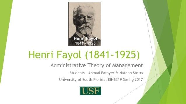 Henri fayol grouping business activities