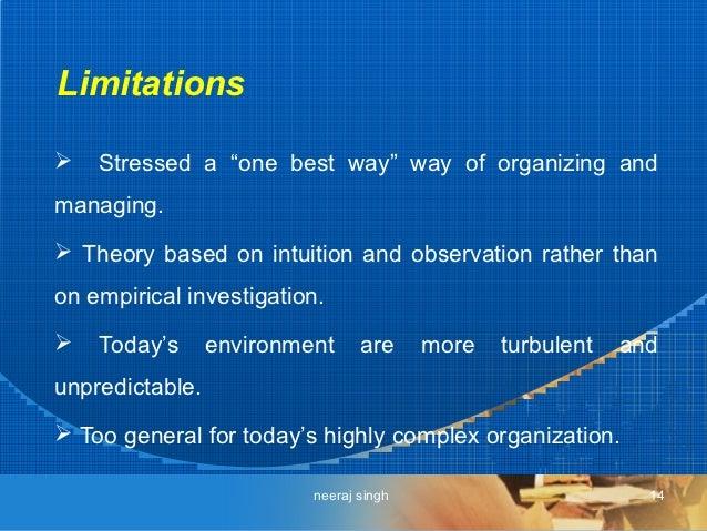 Henri Fayol's Principles of Management