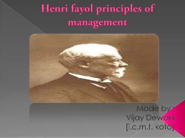    Henri Fayol (Istanbul, 29 July 1841 – Paris, 19    November 1925) was a French mining    engineer and director of mine...