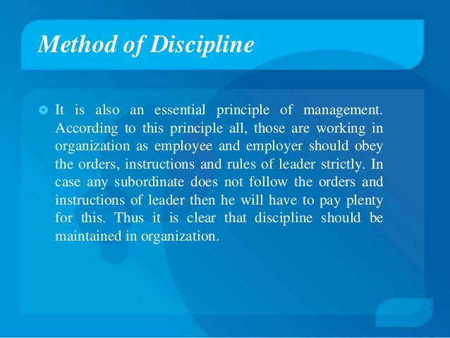 fayols 14 principles Henry fayol's 14 principles of management definition: the administrative theory was proposed by henry fayol, who studied the organizational problems from the manager's viewpoint and found organization's activities can be classified as technical, financial, commercial,.