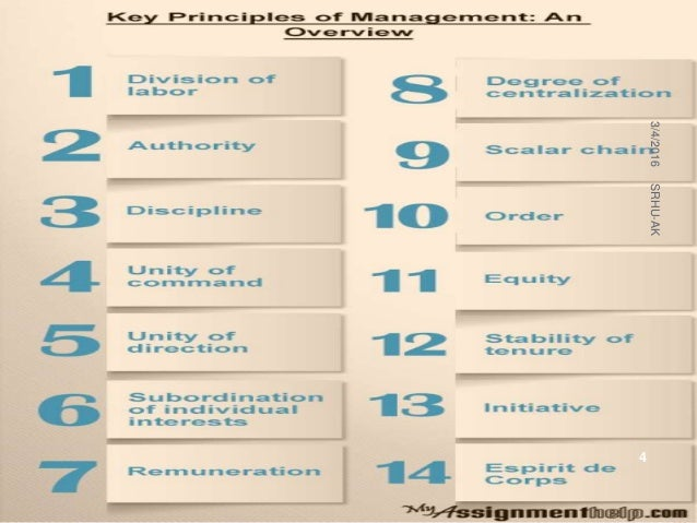 fayols fourteen principle of management 14 principles of management by henri fayol the general management principles as summarized by fayol what are the 14 principles of management.