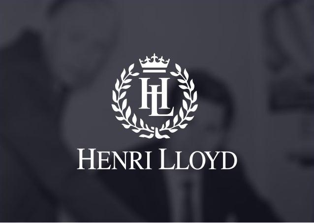 Henri lloyd Creative Pitch