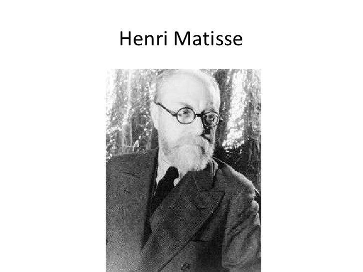 Henri Matisse<br />