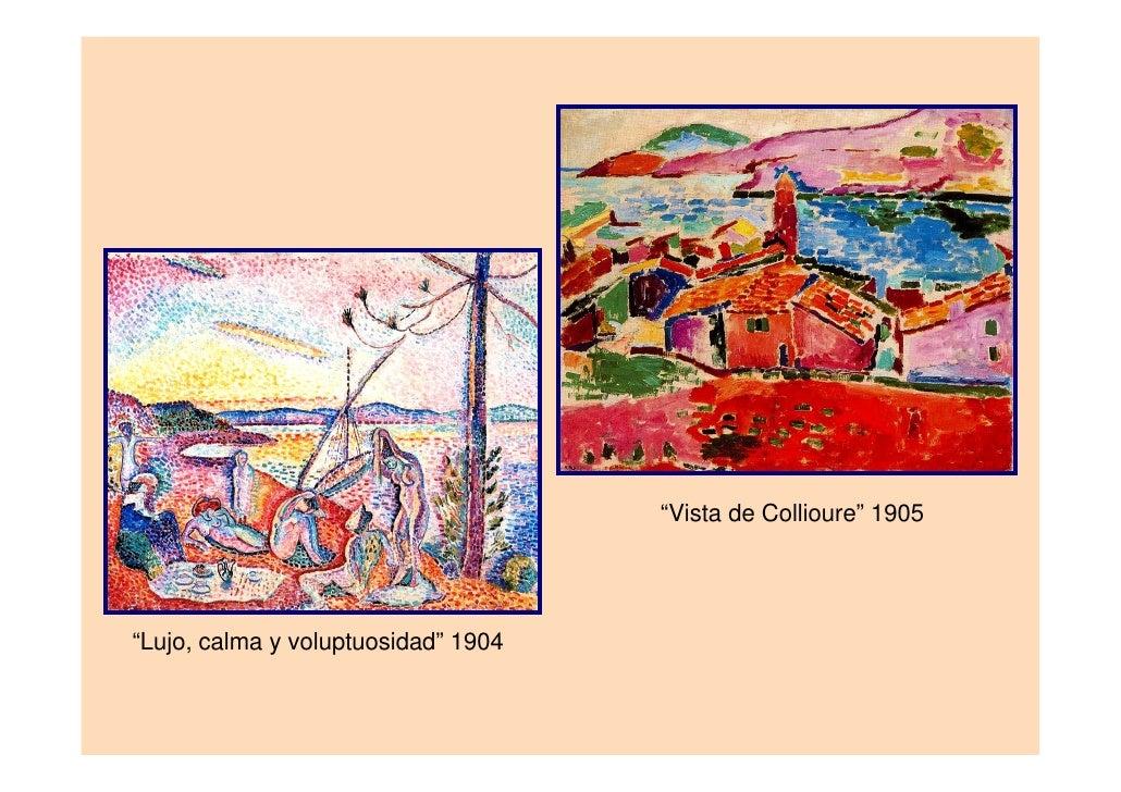 """""""Ventana de Tahití"""" 1935   """"La cortina egipcia"""" 1948"""