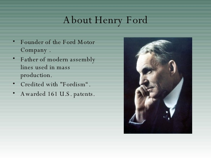 the biography of henry ford In this printable reading warm-up, students read a short biography on henry ford and answer reading comprehension questions.