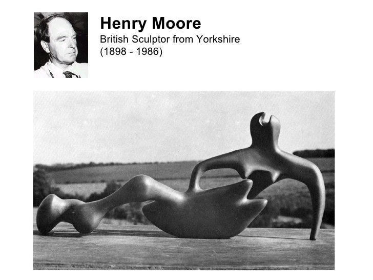 Henry Moore British Sculptor from Yorkshire (1898 - 1986)