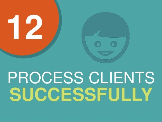 PROCESS CLIENTS SUCCESSFULLY 12