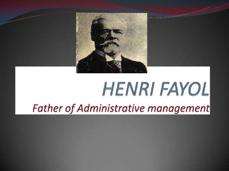 henri fayol five functions of Some of the major functions of management according to henry fayol are as follows: different theorists have cut the pie of management in pieces of different size and shape some classify the functions of management as few as three while others even in more than a dozen various experts have classified functions of management.