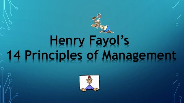 Henry fyol principles of management followed by pizza hut ppt.