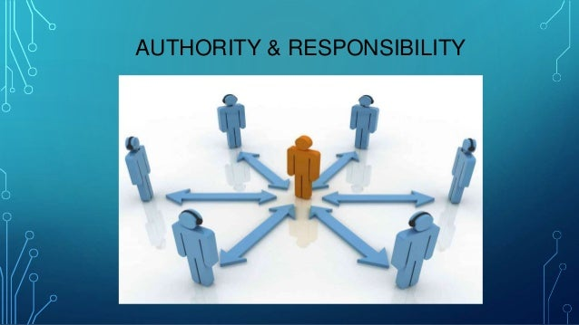 henri fayol authority and responsibility