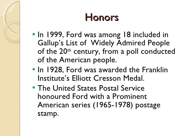 Henry ford for Ford motor company retiree death benefits