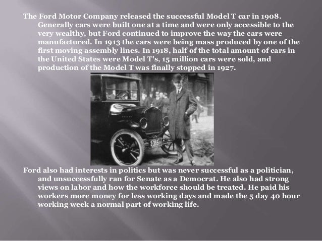 henry ford biography henry ford