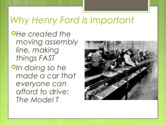 Henry Ford Ppt