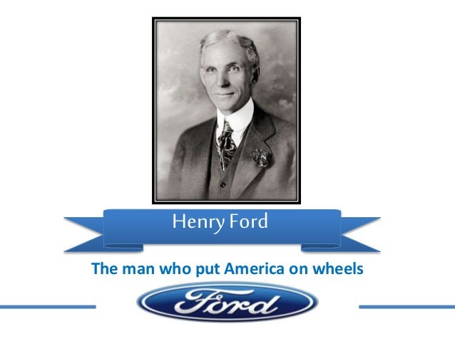 an introduction to the life of henry ford the founder of the ford motor company How henry ford changed the life of americans with his invention introduction henry ford was a great industrialist and was the founder of the ford motor company.