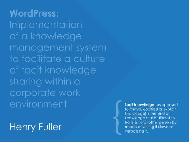 Wissensmanagement in Theorie und Praxis
