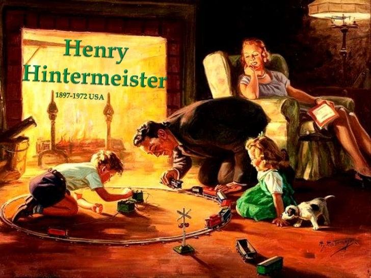 Henry<br />Hintermeister<br />1897-1972 USA<br />