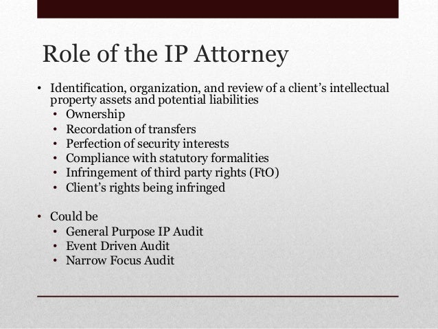 how to become an ip attorney