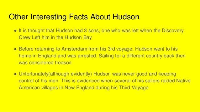 Henry Hudson power point
