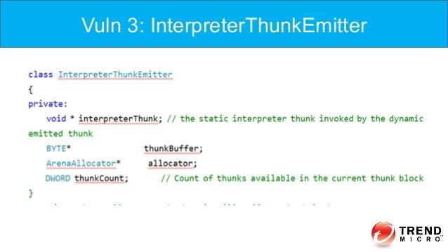 Vuln 3: InterpreterThunkEmitter