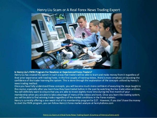 Henry liu forex