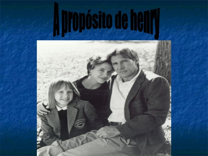    Jatorrizko izenburua: Regarding Henry   Urtea: 1991   Herrialdea:Estatu Batuak   Zuzendaria: Mike Nichols   Gidoia...