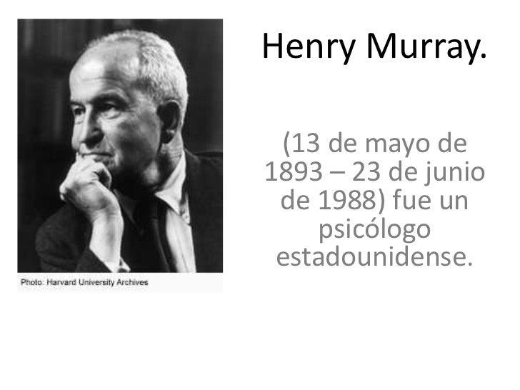 Henry Murray