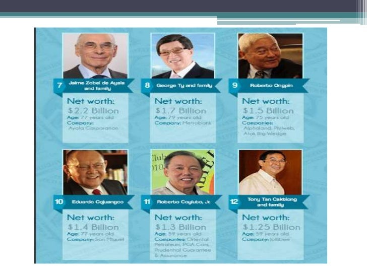 henry sy and john gokongwei swot Retail magnate henry sy sr is still the richest filipino, according to forbes magazine john gokongwei jr with a total net worth of $58 billion.