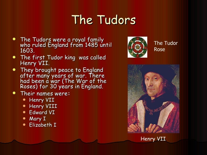 the tudor reformation under king henry Henry viii and the reformation parliament transforms  for henry has no male heir to carry on the tudor  the holy roman empire under king charles v of spain.