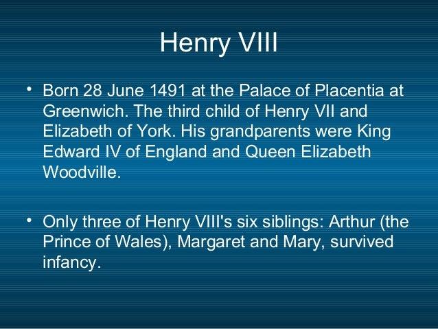 Henry viii – James i Slide 2