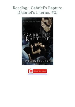 Read Gabriels Rapture Gabriels Inferno 2 By Sylvain Reynard