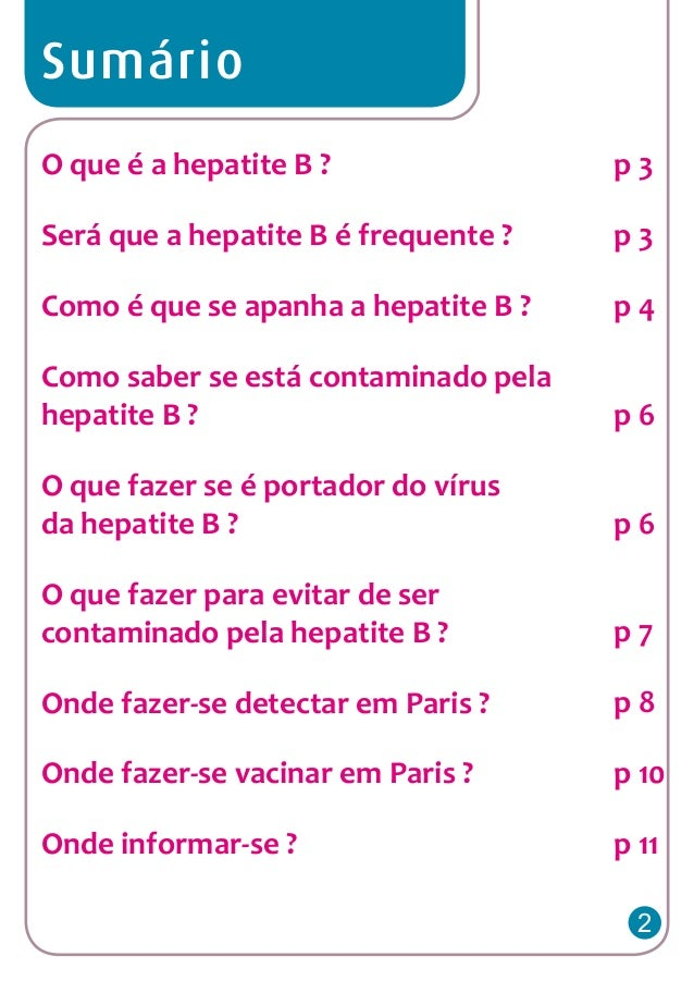 Hepatite b portugais Slide 2