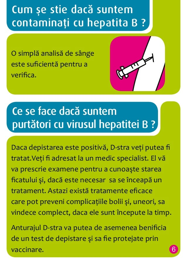 Cum se stie daca suntem contaminati cu hepatita B ? O simplă analisă de sânge este suficientă pentru a verifica.  Ce se fa...