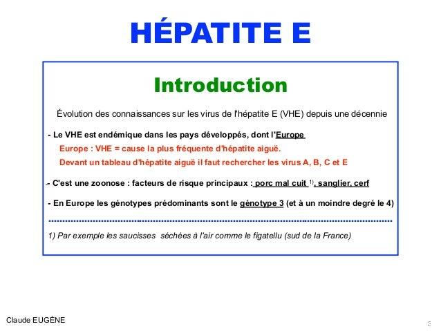 HEPATITE E  EASL 2018 Slide 3