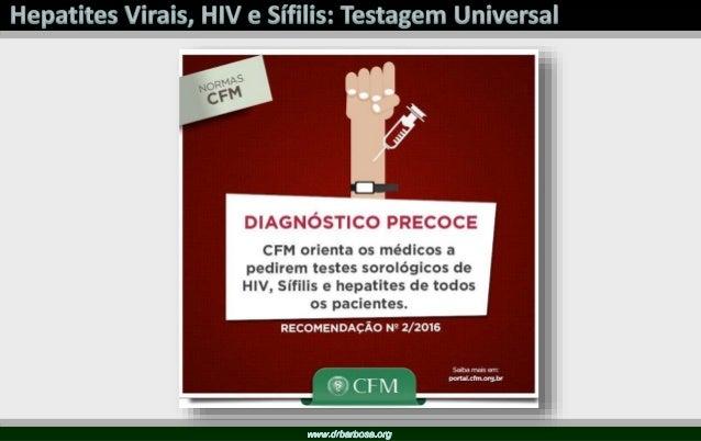 Resolução Espontânea Cronificação + Passo 1: Identificar a infecção Crônica pelo VHC - Sintomas somente nos cirróticos des...