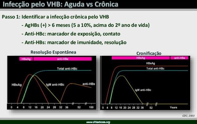 Anti-VHC Reagente PCR RNA VHC Negativo (20%) Não Portador Positivo Avaliação Fibrose + Outras Variáveis Decisão Terapêutica
