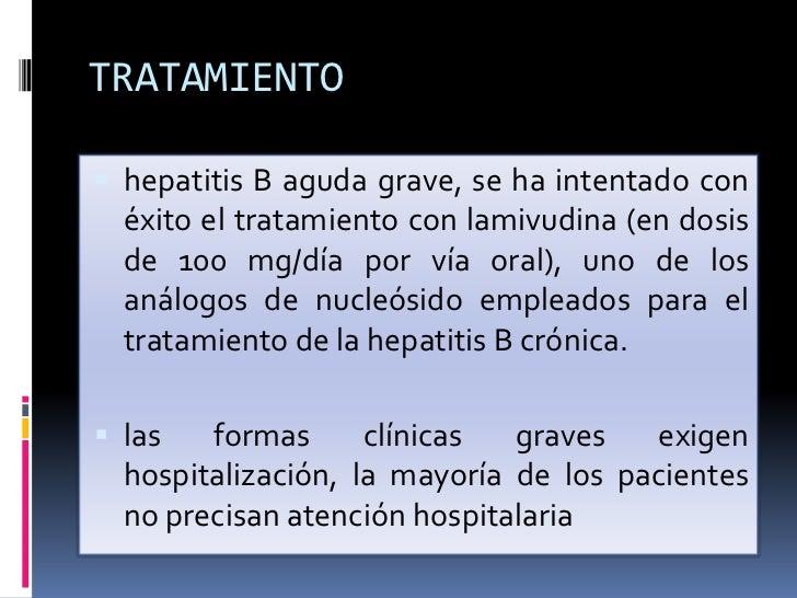 Hepatitis A y B