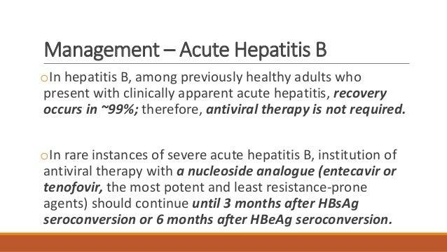 Top Five Hepatitis B Antiviral Therapy - Circus